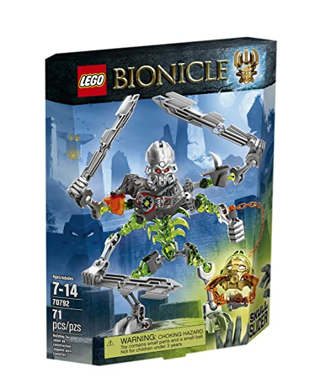 Amazoncom Lego Bionicle 70792 Skull Slicer Building Kit Toys Games