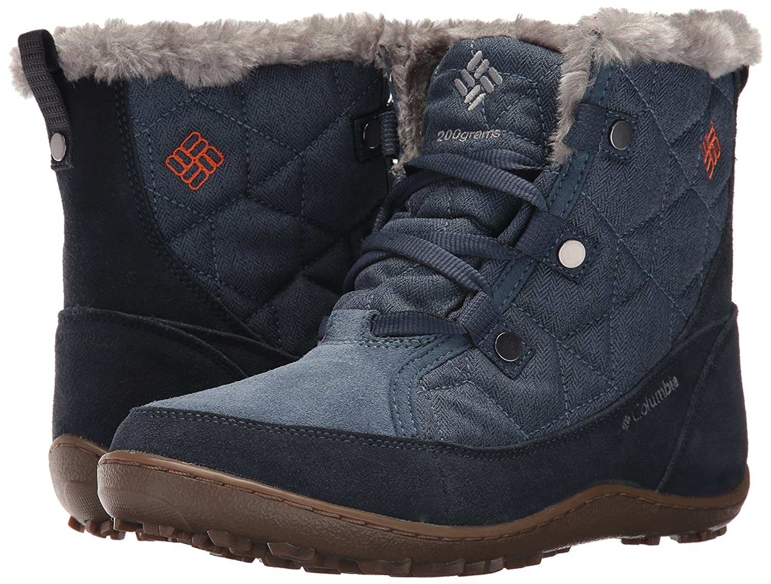 Columbia Omni-Heat Women's Minx Shorty Alta Omni-Heat Columbia Snow Boot B01N6IQKO3 7 B(M) US|Zinc, Desert Sun ed960c