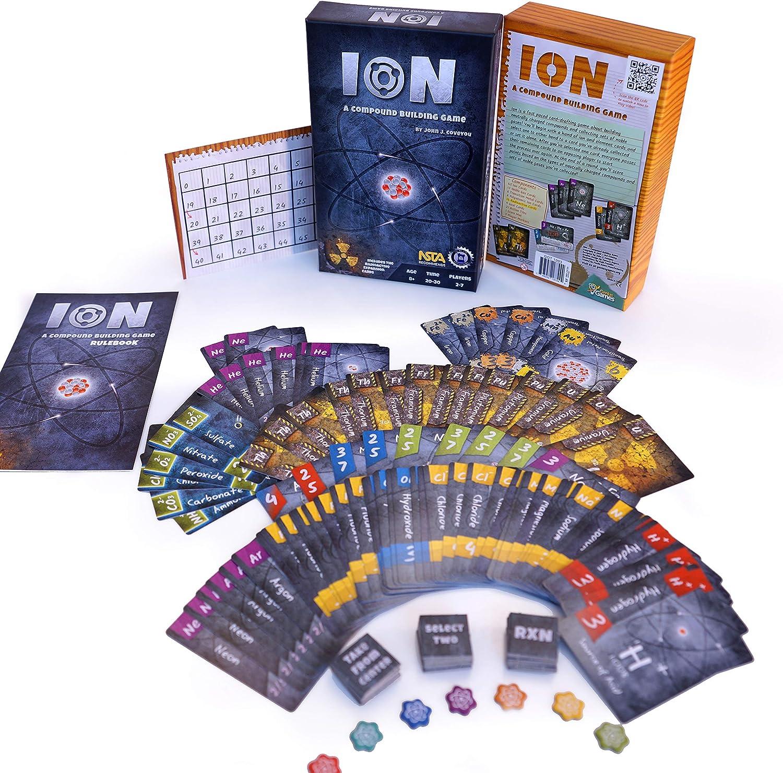 Ion: A Compound Building Game: Amazon.es: Juguetes y juegos