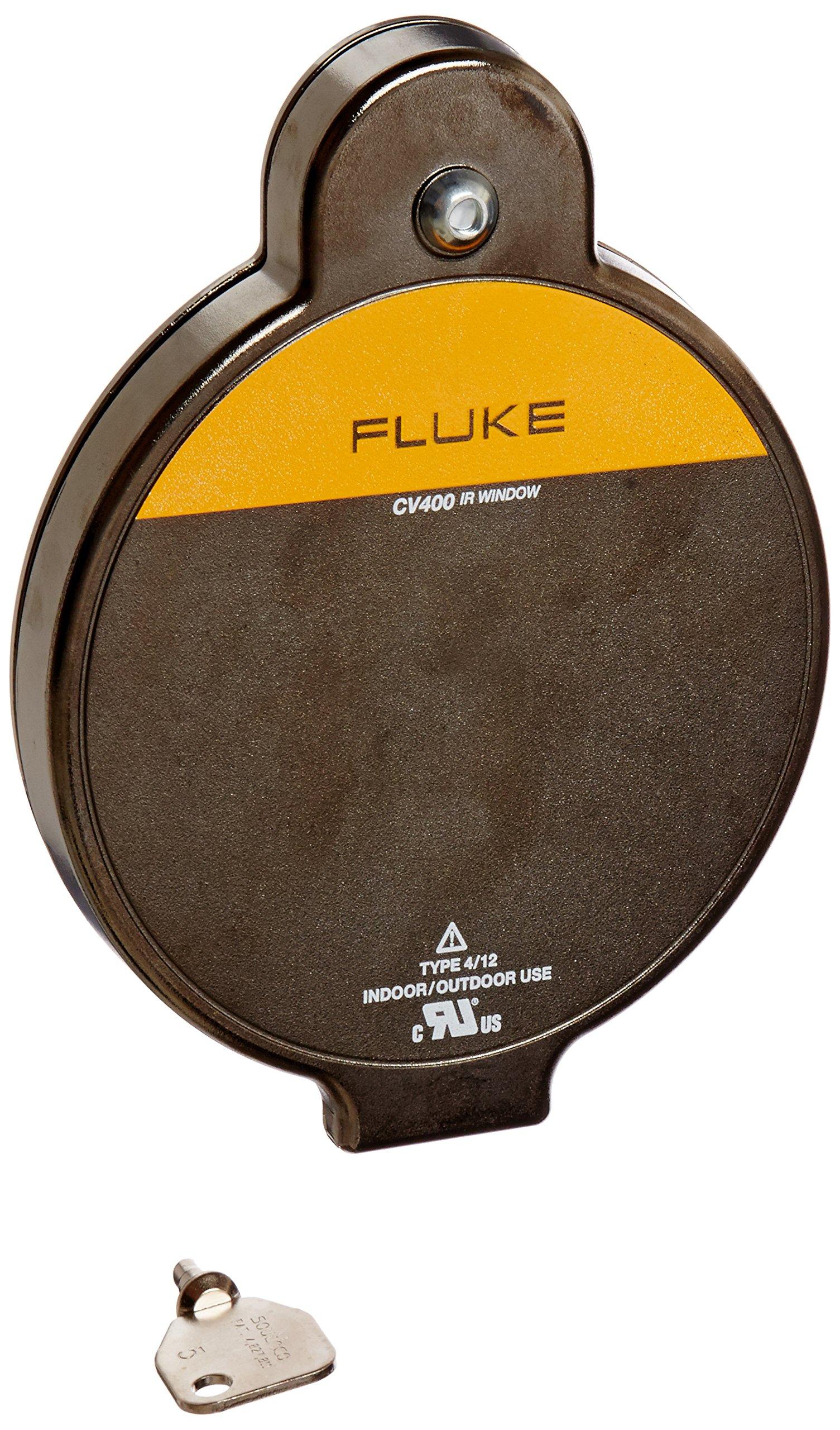 Fluke FLUKE-CV401 4'' Infrared Window with Security Key Door Latch, 7.45'' x 5.79'', 100 mm