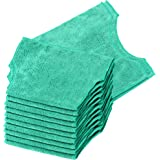 Real Clean Microfiber Refills for Swiffer and Clorox ReadyMop 12-pack GREEN