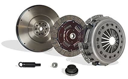 Clutch And Flywheel Kit Works With Ford F250 F350 F59 F Super Duty Base XL Lariat