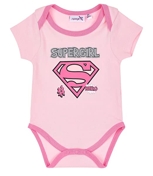 Superbaby Babies Girls Baby body pink