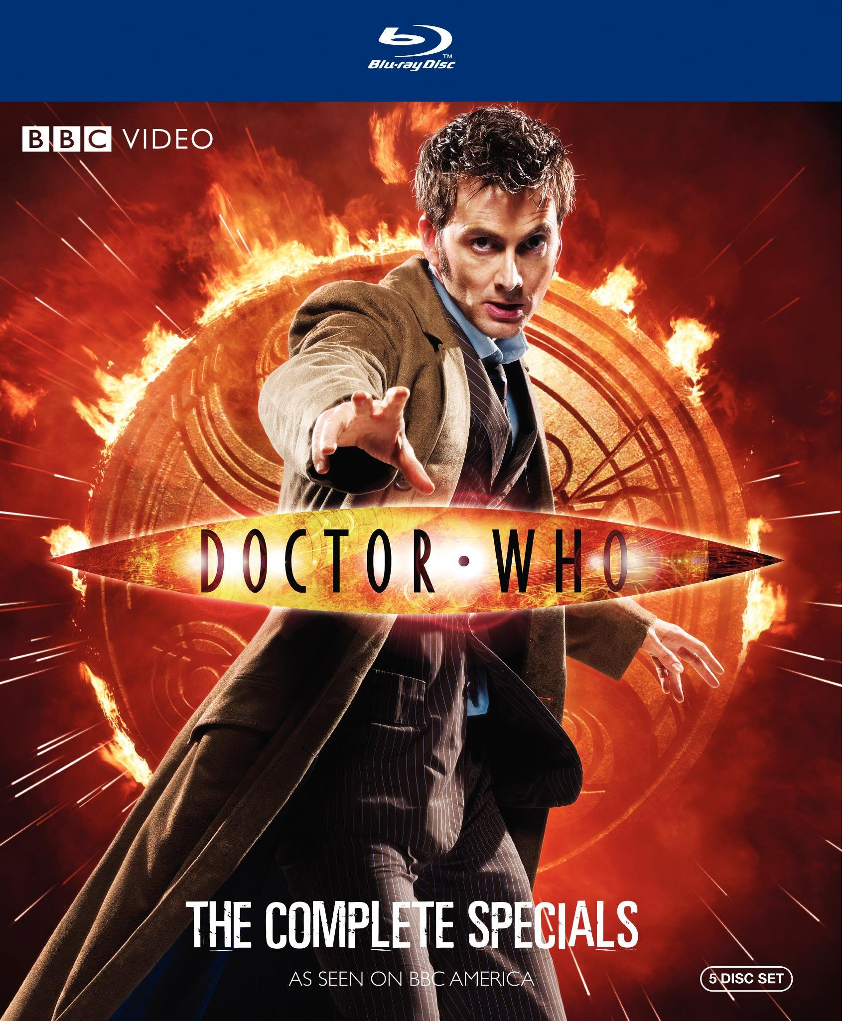 Doctor Who: The Complete Specials (The Next Doctor / Planet of the Dead / The Waters of Mars / The End of Time Parts 1 and 2) [Blu-ray] by Warner Manufacturing