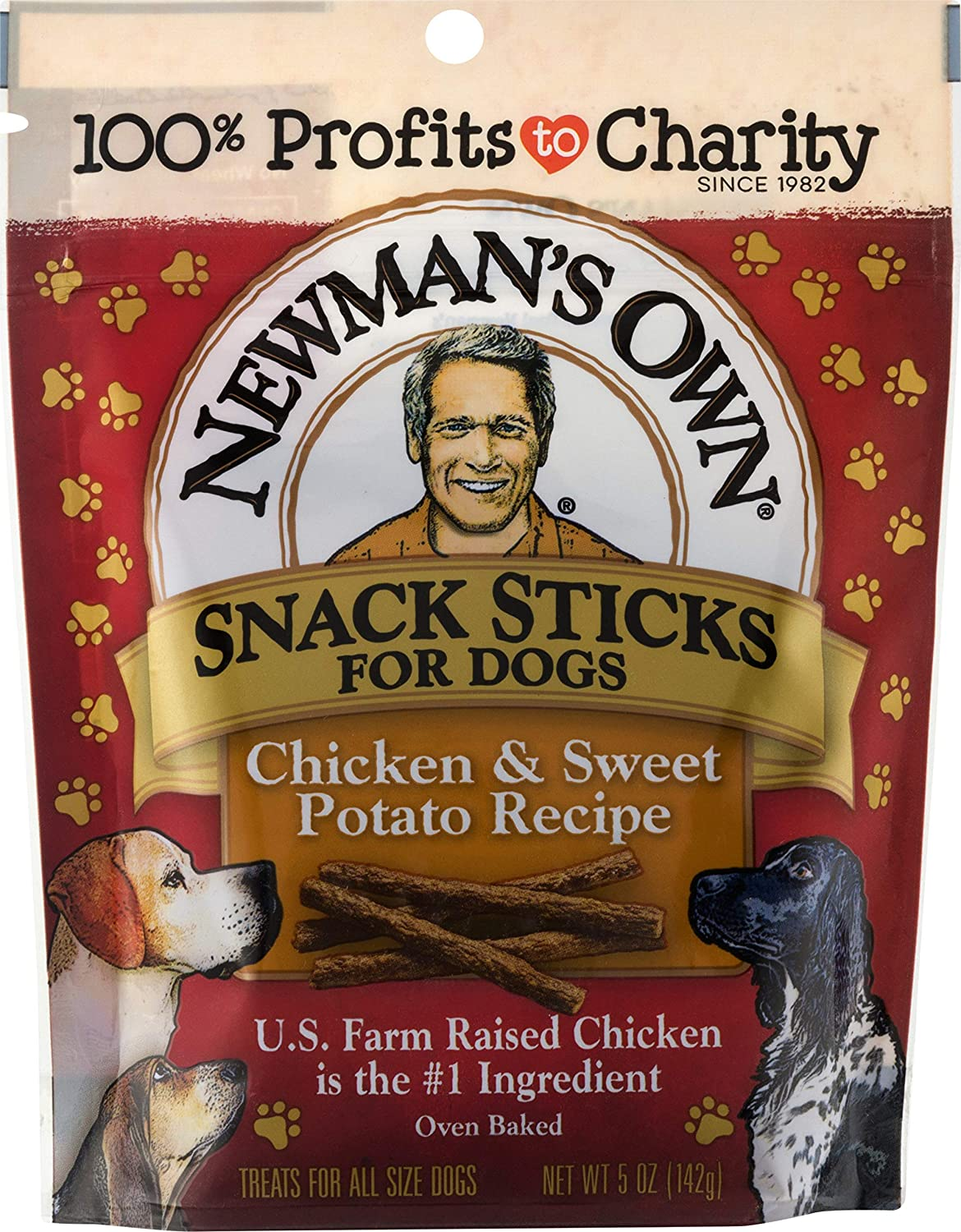 Newman s Own Snack Sticks for Dogs, 5-oz. Pack of 8