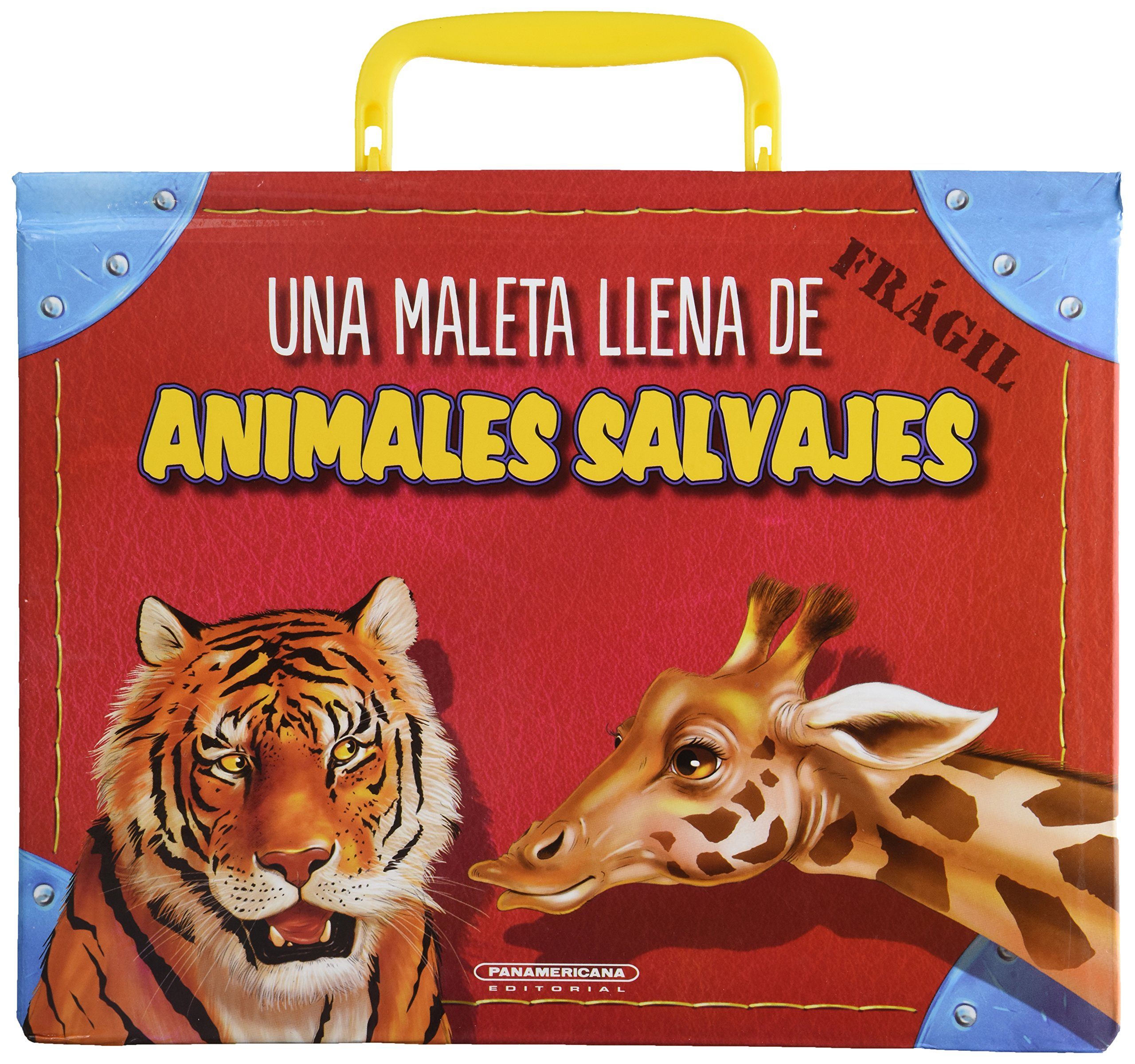 Una Maleta Llena De Animales Salvajes (Spanish) Hardcover – 2013