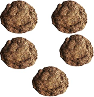 Khushi Farm Products Pure Cow Dung Cakes (Gobar Upla) for Hawan and Indian Rituals- Pack of 5