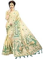 Indian Beauty Khadi Saree