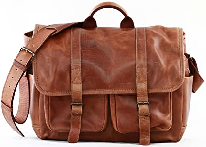 PAUL MARIUS leather camera bag with adjustable interior compartments LE  REPORTER 1a8bbda6884bf