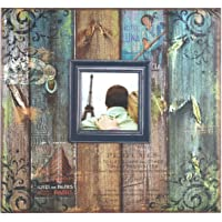 MBI Vintage Travel Post Álbum, Encuadernado para Scrapbook, con Ventana, 30 x 30 cm