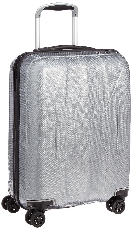 [サンコー] スーツケース ジッパー 四季颯 日本製 消音/静音キャスター RSK1-51 31L 51 cm 2.5kg B019GHO3VE グレー