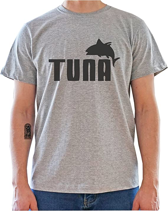 Imagen dePuma Logo Tuna Funny Graphic Mens T-Shirt