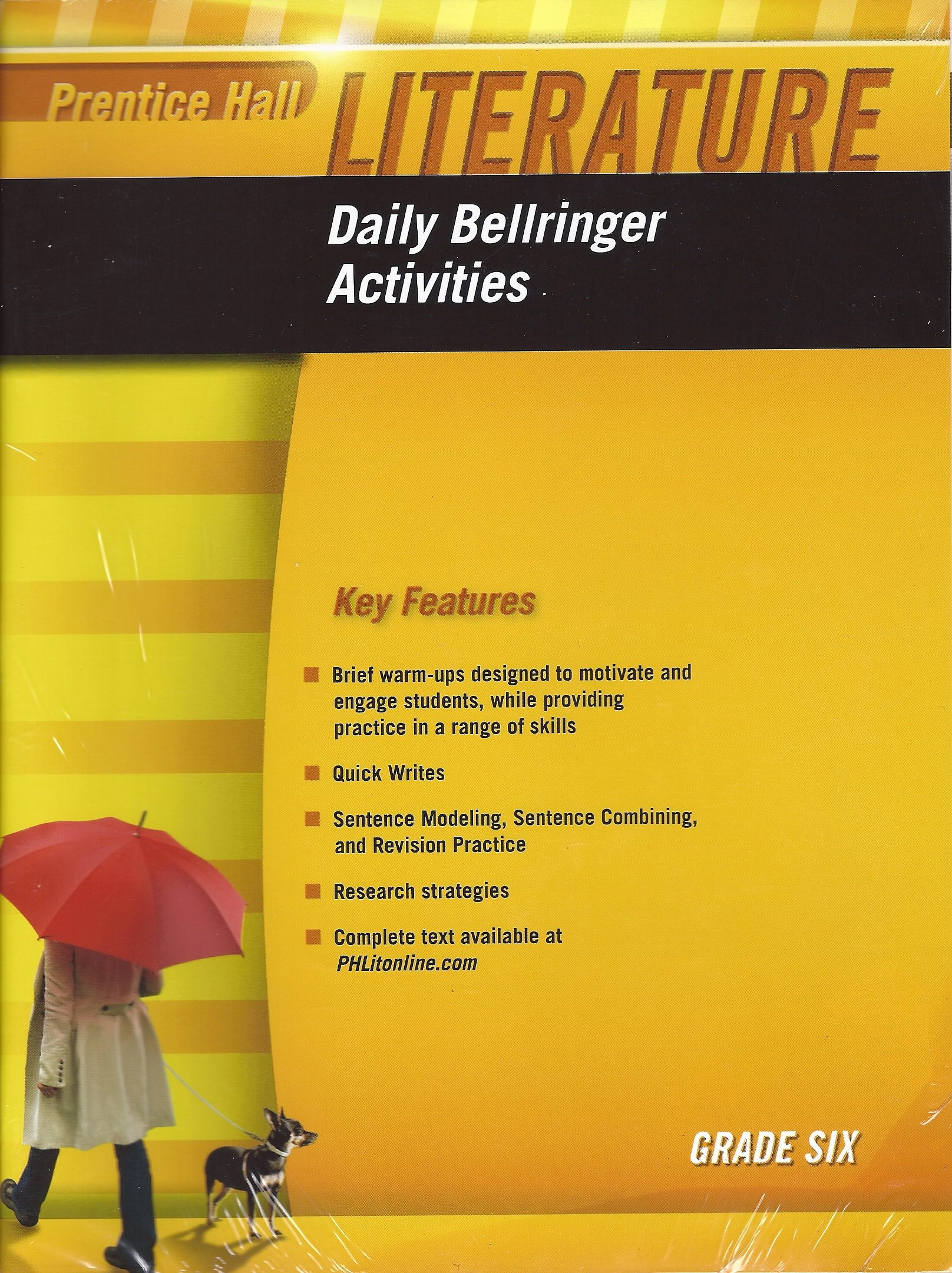 Daily Bellringer Activities, Grade 6 (Prentice Hall Literature) pdf epub