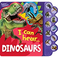 10-Button Super Sound Book I Can Hear Dinosaurs