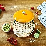 Uno Casa Ceramic Tortilla Warmer and Holder - Holds