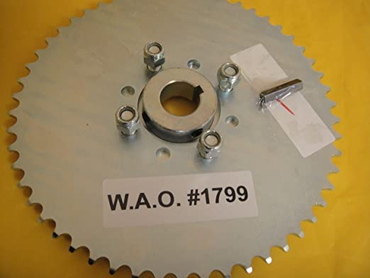 Go Kart Sprocket /& Hub for 1 Axle 48 Tooth For #41 Chain