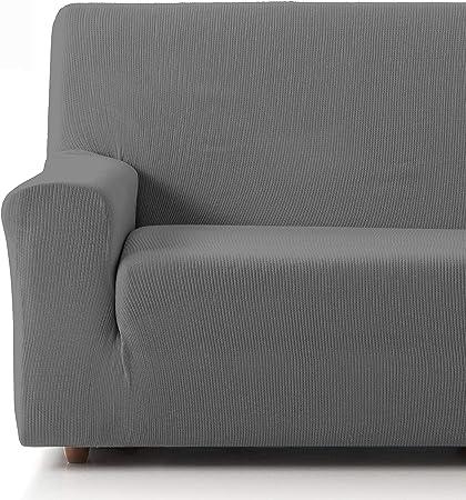 Oferta amazon: Eiffel Textile Funda Sofa Elastica Protector Adaptable Rústica Sofá, 50% Poliéster, Gris, Pack 3+2 Plazas