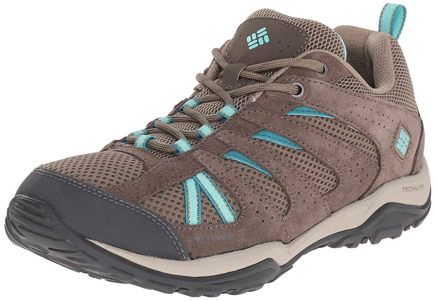 Columbia Women's Dakota Drifter Trail Shoe B01015KS8M 7 M US|Pebble, Dolphin
