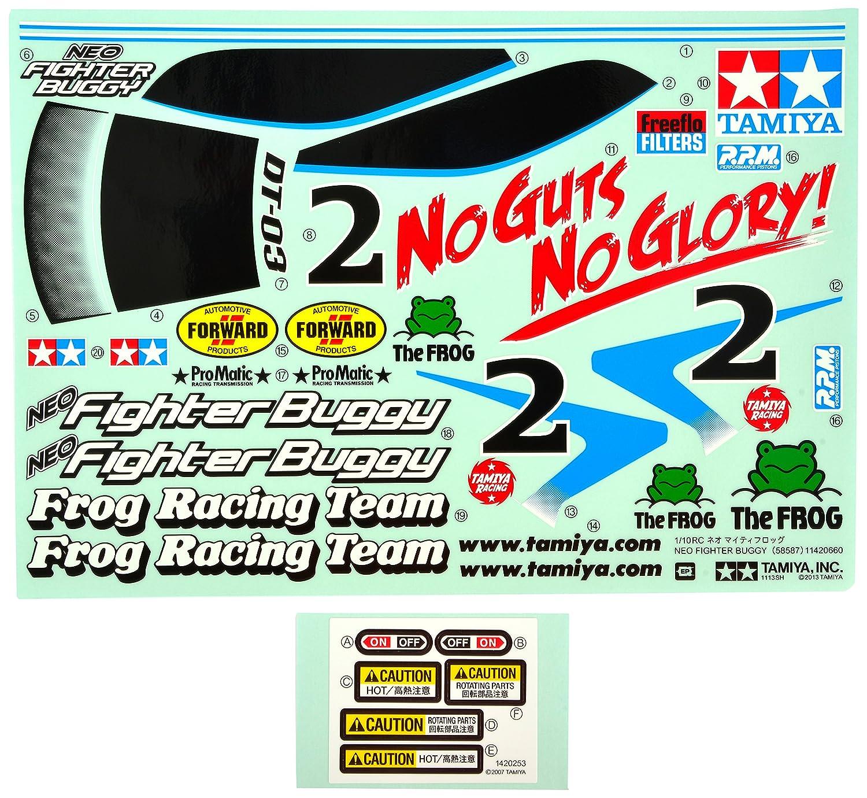 Tamiya DT03 Neo Fighter Karosserie mit Spoiler PC