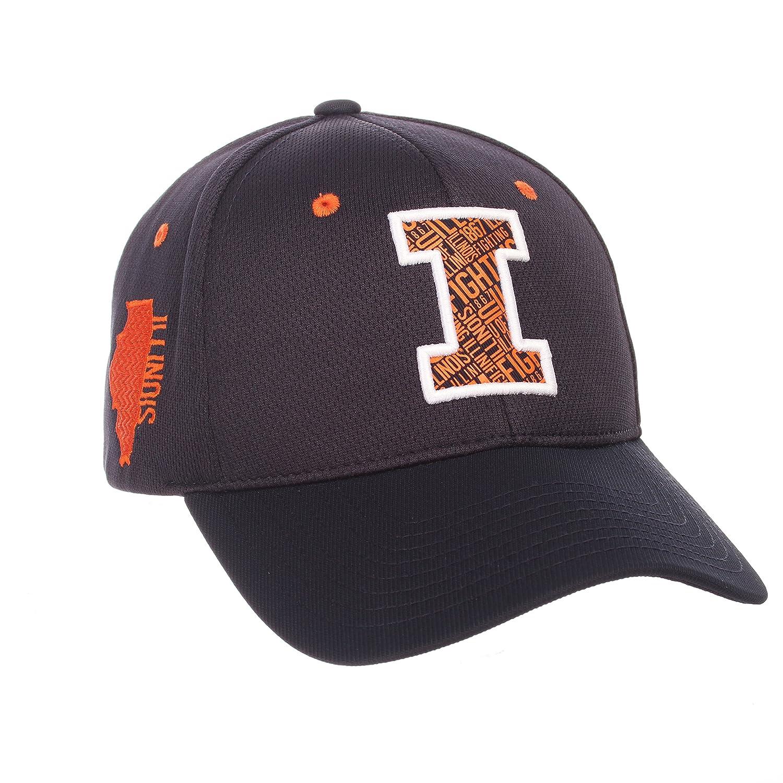 Zephyr Adult Men Rambler NCAA Hat Adjustable Team Color