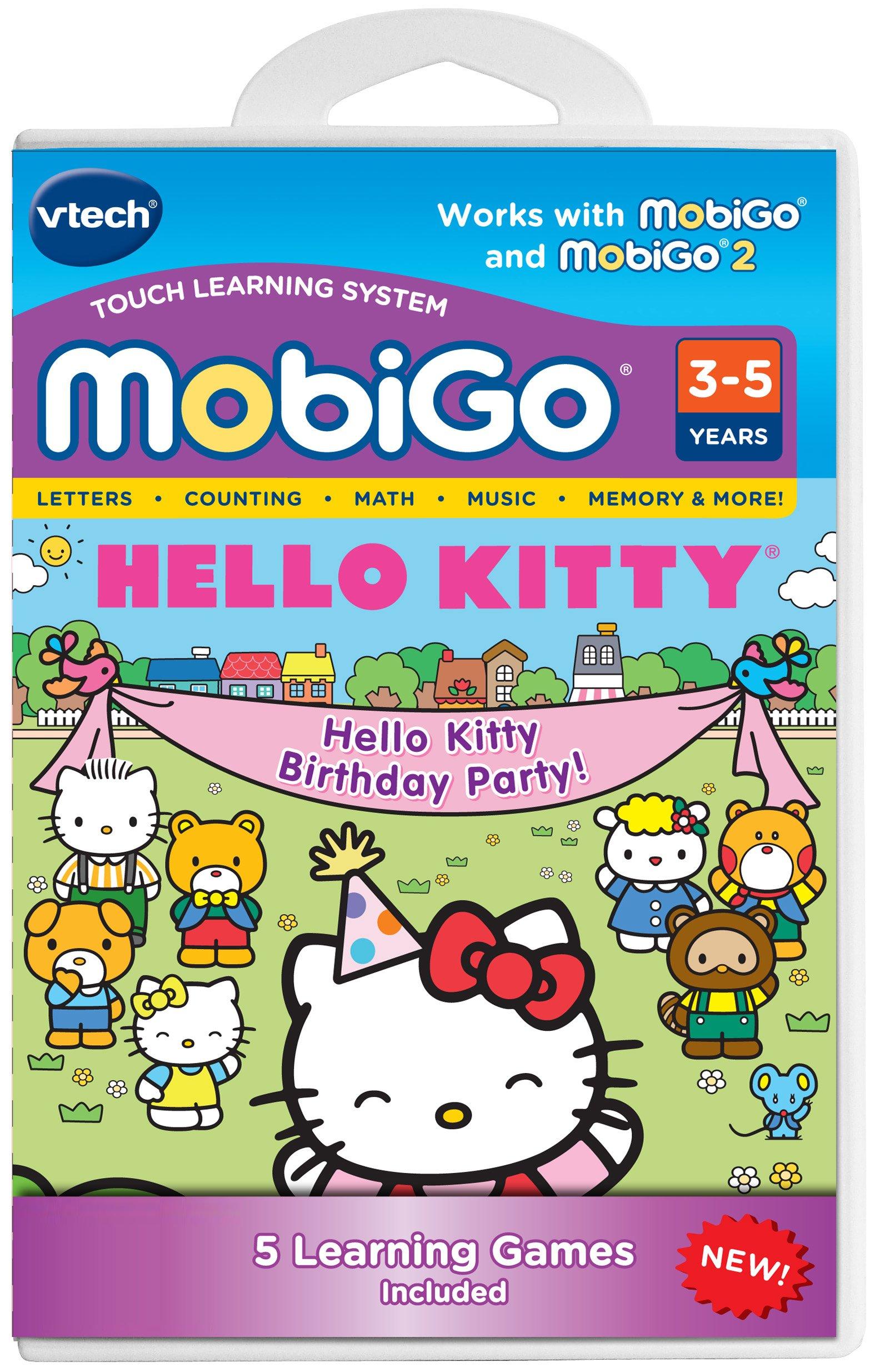 VTech MobiGo Software Cartridge - Hello Kitty