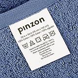Pinzon Organic Cotton Bath Towel, Set of 4, Indigo