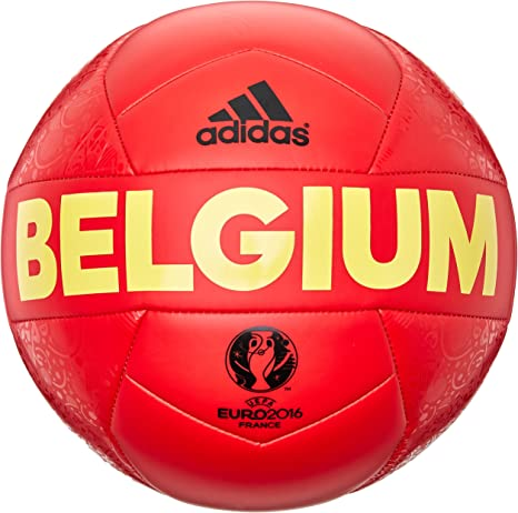 adidas EURO16 Bélgica Capitano - Pelota de fútbol, Multicolor ...