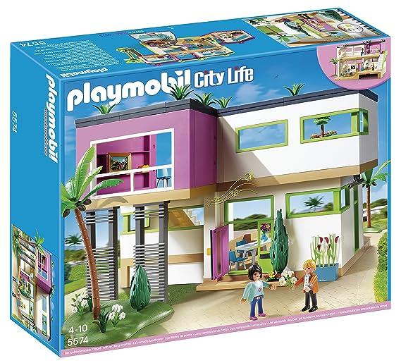 Playmobil Modern Luxury Mansion Building Set