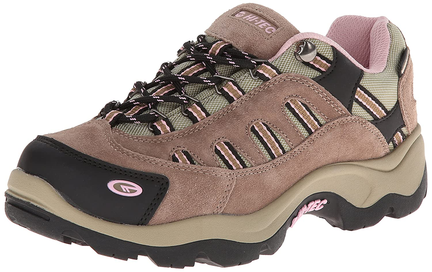 Hi-Tec Women's Bandera Low Waterproof Trail Running Shoe B00H4U5S6A 8 B(M) US|Taupe/Blush