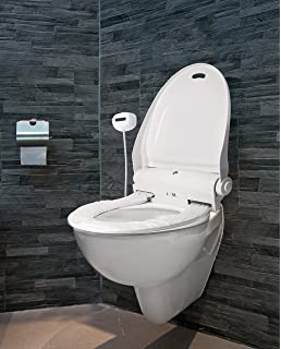 self opening toilet seat. Jumbl IT100B Automated Toilet Seat with Cover Automatic Covers Amazon com  iTouchless Touch Free Sensor Controlled