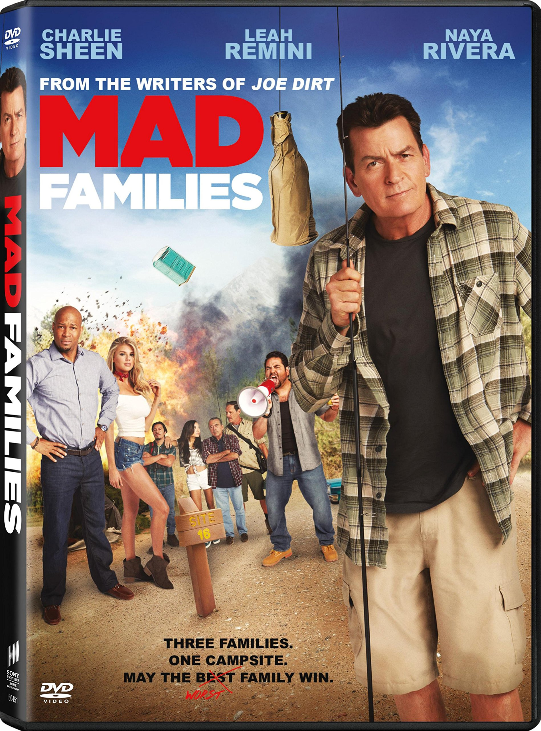 DVD : Mad Families (2017) (DVD)