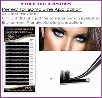 996d9dd077a LOOK COOL 0.07/ C/D-curl Russian Volume Lashes 2D-9D Individual ...
