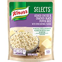 Knorr Selects Rice Side Dish, Asiago Cheese & Cracked Black Pepper, 5.5 oz (Pack of 8)