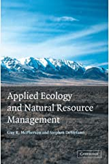 Applied Ecology and Natural Resource Management Kindle Edition