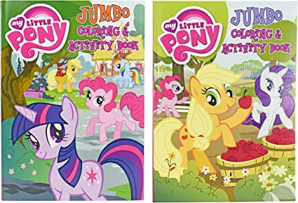 Coloring and Activity Book Perfect for any My Little Pony Fan Bendon Publishing International Tear and Share Set of 2 My Little Pony Jumbo Coloring Books 96 Pages