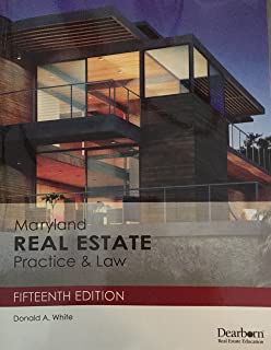 maryland supplement to real estate principles