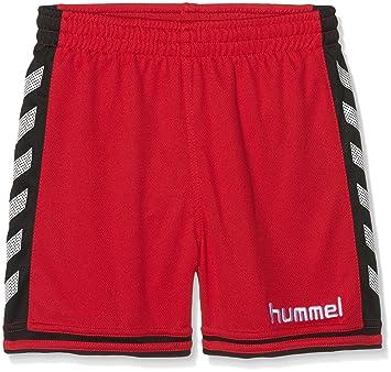 bdfc6e5a2e093 hummel Sirius Short pour garçon, Garçon, Shorts Sirius, True Red/Black