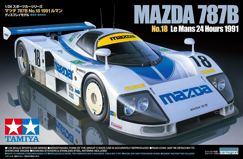 Amazon.com: Tamiya 1/24 Mazda 787B No. 18 1991: Everything Else