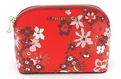 Michael Kors Emmy Saffiano portafoglio da viaggio, floreale