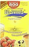 EZ-Sweetz (2oz - Liquid Sweetener 800 Servings/Bottle)