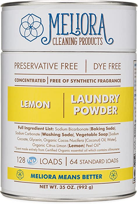 Top 10 Meliora Cleaning Products Laundry Powder Lemon