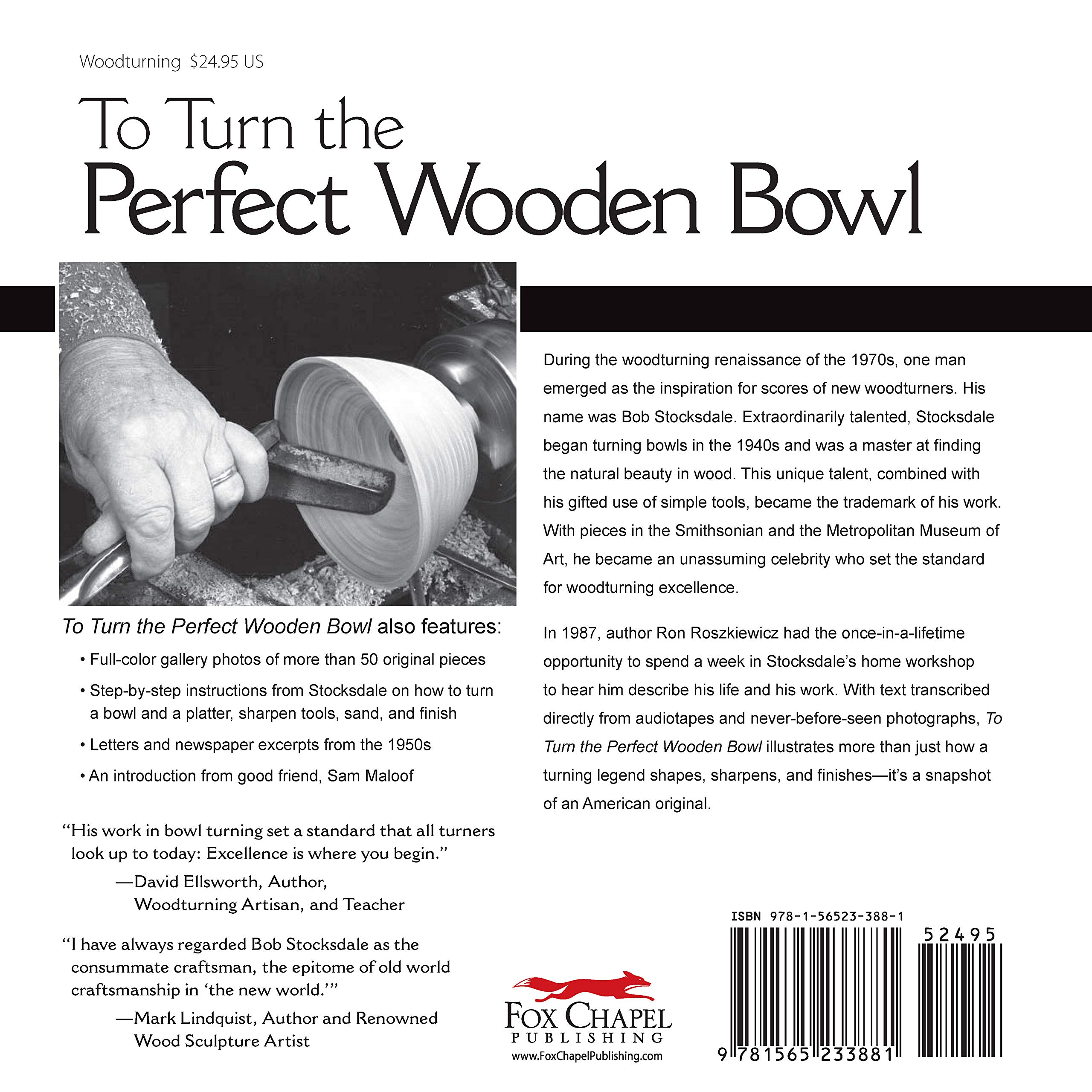 To Turn the Perfect Wooden Bowl: The Lifelong Quest of Bob ...