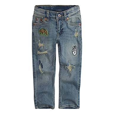 ab99438f7 Amazon.com: Levi's Boys' 511 Slim Fit Distressed Jeans: Clothing
