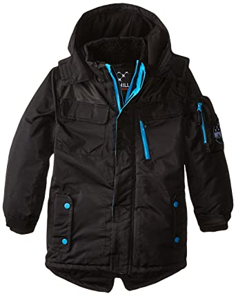 3c4f4ff57 Amazon.com  Big Chill Boys  Expedition Parka Coat  Clothing