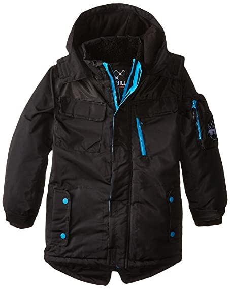Amazon.com: Big Chill Boys' Expedition Parka Coat: Clothing