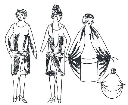 Amazon Basic 60's Dress Pattern Arts Crafts Sewing Unique 1920s Dress Patterns
