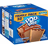 32-Pack Pop-Tarts Frosted Brown Sugar Cinnamon Toaster Pastries