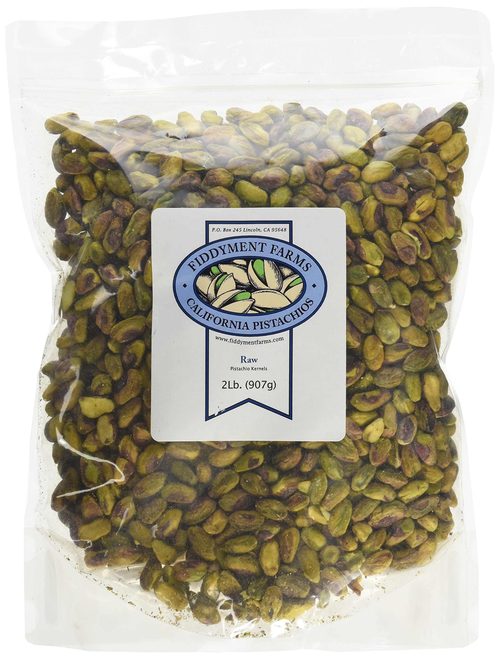 Fiddyment Farms 2 Lb. Raw Pistachio Kernels by Fiddyment Farms
