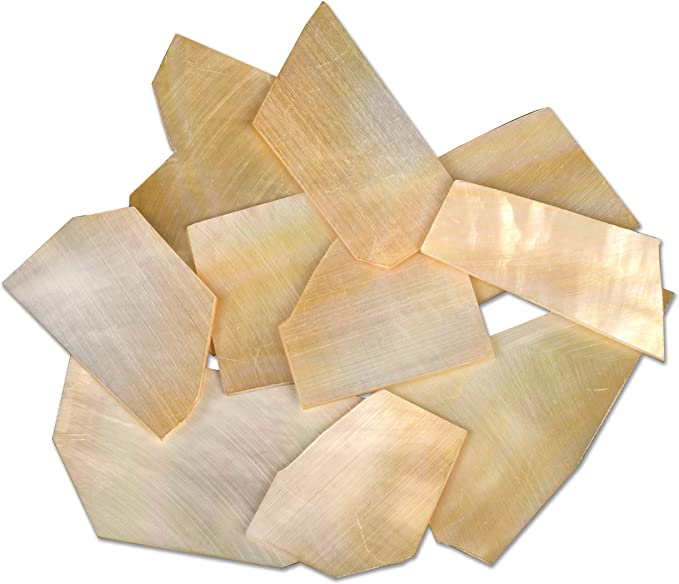 Guitar Inlay Luthier Mother Of Pearl Blanks 3//4 ×3//4  20 pieces