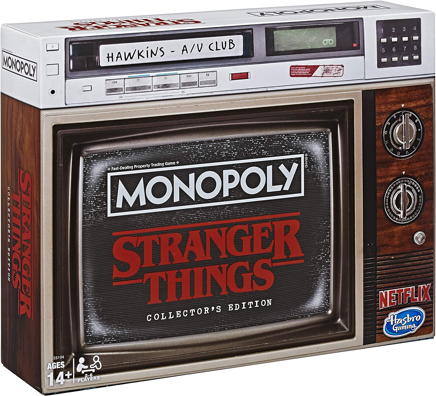 Hasbro Stranger Things Board Game Monopoly Collectors Edition *English Version*: Amazon.es: Juguetes y juegos